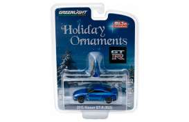 Nissan  - GT-R R35 2015 blue - 1:64 - GreenLight - 51079 - gl51079 | The Diecast Company