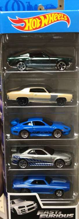 Assortment/ Mix  - Fast & The Furious 2020 various - 1:64 - Hotwheels - GMG69 - hwmvGMG69 | The Diecast Company