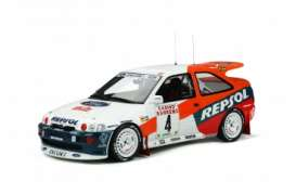 Ford  - Escort 1996 white/red - 1:18 - OttOmobile Miniatures - OT844 - otto844 | The Diecast Company
