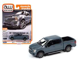 Ford  - F-150 2018 grey - 1:64 - Auto World - SP041A - AWSP041A | The Diecast Company