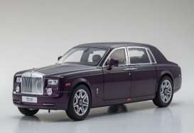 Rolls Royce  - 2015 purple - 1:18 - Kyosho - 8841tp - kyo8841tp | The Diecast Company