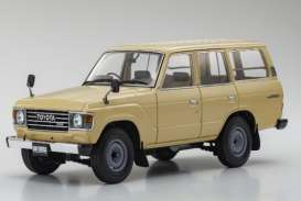 Toyota  - Land Cruiser  beige - 1:18 - Kyosho - 08956be - kyo8956be | The Diecast Company