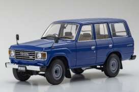 Toyota  - Land Cruiser  blue - 1:18 - Kyosho - 08956bl - kyo8956bl | The Diecast Company