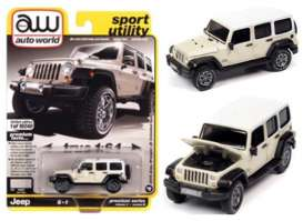 Jeep  - Wrangler 2018 beige - 1:64 - Auto World - SP054B - AWSP054B | The Diecast Company