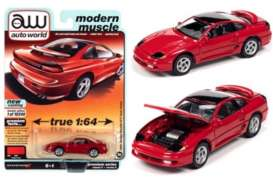Dodge  - Stealth 1991 red - 1:64 - Auto World - SP056A - AWSP056A | The Diecast Company