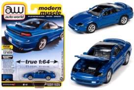 Dodge  - Stealth 1991 blue - 1:64 - Auto World - SP056B - AWSP056B | The Diecast Company