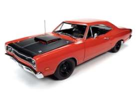Dodge  - Super Bee 1969 red - 1:18 - Auto World - AMM1231 - AMM1231 | The Diecast Company
