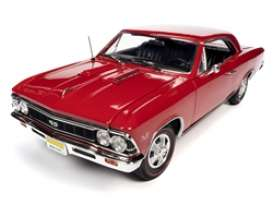 Chevrolet  - Chevelle SS 1966 red - 1:18 - Auto World - AMM1233 - AMM1233 | The Diecast Company