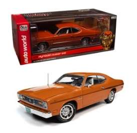 Plymouth  - Duster 1970 orange - 1:18 - Auto World - AMM1239 - AMM1239 | The Diecast Company