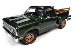 Dodge  - 1977 green - 1:18 - Auto World - AMM1243 - AMM1243 | The Diecast Company