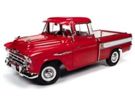 Chevrolet  - Cameo 1957 red/white - 1:18 - Auto World - 265 - AW265 | The Diecast Company
