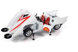 Speed Racer  - Mach 5 white - 1:18 - Auto World - AWSS124 - AWSS124 | The Diecast Company