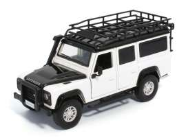 Land Rover  - Defender 110  white - 1:32 - Tayumo - 32105011 - tay32105011 | The Diecast Company