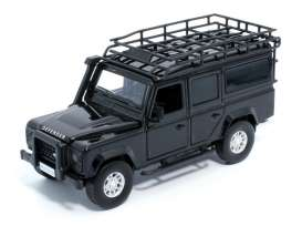Land Rover  - Defender 110  black - 1:32 - Tayumo - 32105012 - tay32105012 | The Diecast Company