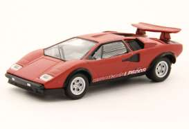 Lamborghini  - Countach LP500S red - 1:64 - Kyosho - 6930A1 - kyo6930A1 | The Diecast Company