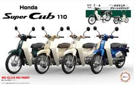 Honda  - Super Cub 110 green - 1:12 - Fujimi - 141800 - fuji141800 | The Diecast Company