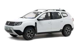 Dacia  - Duster 2018 white - 1:18 - Solido - 1804602 - soli1804602 | The Diecast Company