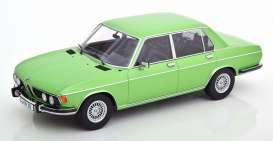 BMW  - 3.0S 1971 light green - 1:18 - KK - Scale - 180404 - kkdc180404 | The Diecast Company