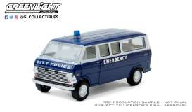 Ford  - Club Wagon 1969 blue - 1:64 - GreenLight - 30209 - gl30209 | The Diecast Company