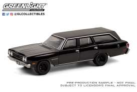Plymouth  - Satellite 1970 black - 1:64 - GreenLight - 28050A - gl28050A | The Diecast Company
