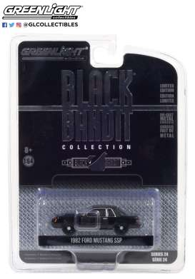 Ford  - Mustang 1982 black - 1:64 - GreenLight - 28050B - gl28050B | The Diecast Company