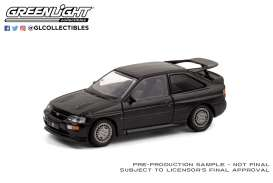 Ford  - Escort RS 1994 black - 1:64 - GreenLight - 28050D - gl28050D | The Diecast Company
