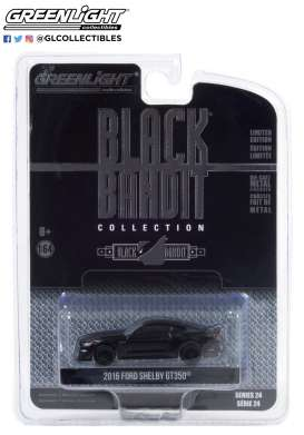 Ford  - Mustang 2016 black - 1:64 - GreenLight - 28050E - gl28050E | The Diecast Company