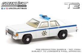 Ford  - LTD 1983 white - 1:64 - GreenLight - 44920D - gl44920D | The Diecast Company