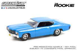 Chevrolet  - Chevelle 1971 blue - 1:64 - GreenLight - 44920F - gl44920F | The Diecast Company