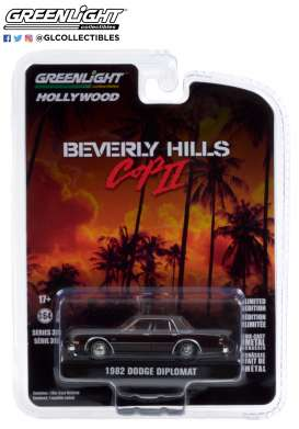 Dodge  - Diplomat 1982  - 1:64 - GreenLight - 44910B - gl44910B | The Diecast Company