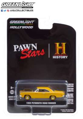 Plymouth  - Road Runner 1969  - 1:64 - GreenLight - 44910D - gl44910D | The Diecast Company