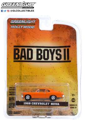 Chevrolet  - Nova  1968  - 1:64 - GreenLight - 44910F - gl44910F | The Diecast Company