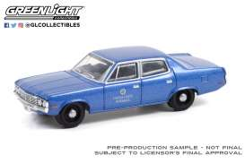 AMC  - Matador 1972 blue - 1:64 - GreenLight - 30218 - gl30218 | The Diecast Company