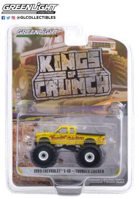 Chevrolet  - S-10 1989 yellow - 1:64 - GreenLight - 49090C - gl49090C | The Diecast Company