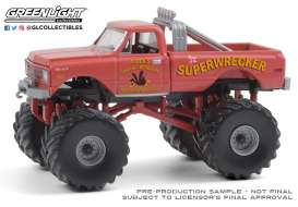 Chevrolet  - K-10 1968 red - 1:64 - GreenLight - 49080A - gl49080A | The Diecast Company