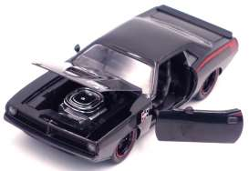 Plymouth  - Barracuda 1973 black - 1:24 - Jada Toys - 31460 - jada31460bk | The Diecast Company