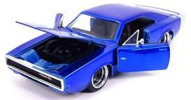 Dodge  - Charger 1973 candy blue - 1:24 - Jada Toys - 31865 - jada31865 | The Diecast Company