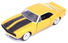 Chevrolet  - Camaro 1967 yellow/black - 1:24 - Jada Toys - 31866 - jada31866 | The Diecast Company