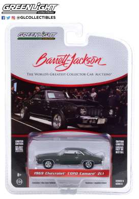 Chevrolet  - Camaro 1969 orange - 1:64 - GreenLight - 37220B - gl37220B | The Diecast Company