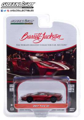 Ford  - GT 2017 red/white - 1:64 - GreenLight - 37220E - gl37220E | The Diecast Company