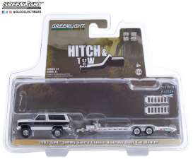 GMC  - Jimmy 1983 black/white - 1:64 - GreenLight - 32210A - gl32210A | The Diecast Company