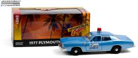Plymouth  - Fury 1977  - 1:24 - GreenLight - 84122 - gl84122 | The Diecast Company