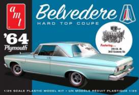 Plymouth  - Belvedere 1964  - 1:25 - AMT - s1188 - amts1188 | The Diecast Company