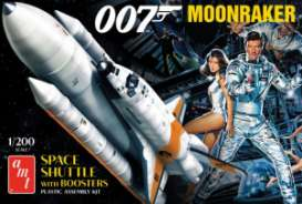 Space Shuttle  - Moonraker  - 1:200 - AMT - s1208 - amts1208 | The Diecast Company