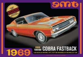 Ford  - Torino Cobra  - 1:25 - AMT - s1217 - amts1217 | The Diecast Company