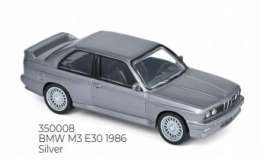 BMW  - M3 E30 1986 silver - 1:43 - Norev - 350008 - nor350008 | The Diecast Company