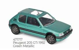 Peugeot  - 205 GTi 1992 green - 1:43 - Norev - 471717 - nor471717 | The Diecast Company