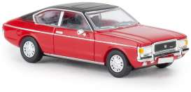 Ford  - Granada 1974 red/black - 1:87 - Brekina - pcx870017 - Brek870017 | The Diecast Company