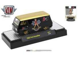 Ford  - Econoline 1963 black/gold - 1:64 - M2 Machines - 31500HS12 - M2-31500HS12 | The Diecast Company