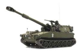 Military Vehicles  - M109 A2 army - 1:87 - Artitec - 3870135 - arti6870135 | The Diecast Company